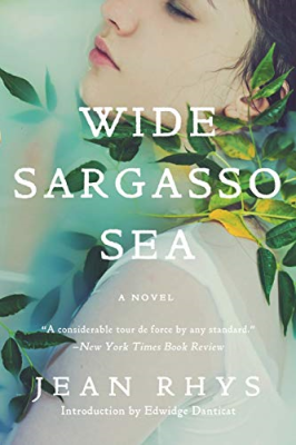 Wide Sargasso Sea by Jean Rhys - Book Cover