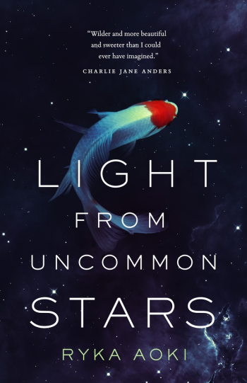 Light from Uncommon Stars by Ryka Aoki - Book Cover