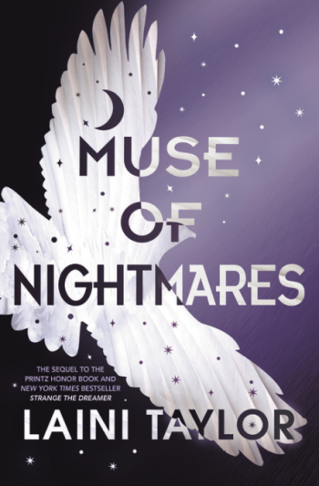Muse of Nightmares by Laini Taylor - Book Cover