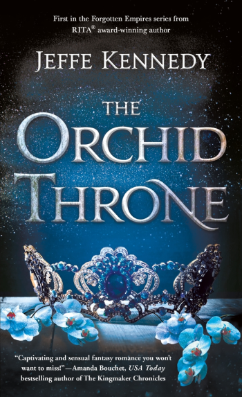 The Orchid Throne by Jeffe Kennedy - Book Cover