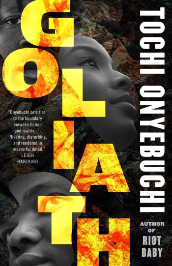 Goliath by Tochi Onyebuchi - Book Cover