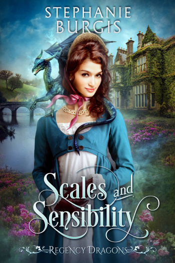 Scales and Sensibility by Stephanie Burgis - Cover Image