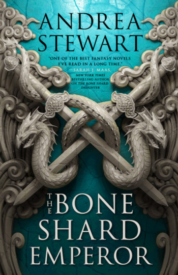 The Bone Shard Emperor by Andrea Stewart - Book Cover